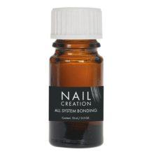 All-System-BondingDesinfecteert en ontvet de natuurlijke nagel. Waarborgt een perfecte hechting tussen de natuurlijke nagel en het product.