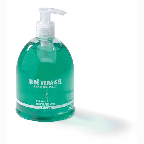 ALOE VERA GEL Verfrist en kalmeert de huid. Dankzij zijn regenererende en anti-irriterende eigenschappen, kalmeert deze gel de geïrriteerde huid. 500 gr