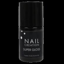 Ultra dunne gel voor de perfecte glans bij ieder productsysteem zoals gel en acryl. Laat geen plaklaag achter na uitharding onder de UV Lamp.