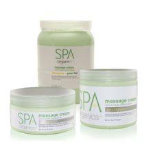 Step 4, Lemongrass & Green Tea Massage Cream Deze gladde massage crème glijdt met een eenvoudig absorptie in de huid, het geneest en beschermd de handen, voeten en lichaam. Aanbrengen op handen, armen, voeten, benen, en/of het hele lichaam. Massage Cream volledig in masseren.